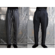 TAAKK : EMBROIDERY STRIPE TROUSERS
