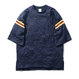 Name. : CREASE EFFECT FOOTBALL TEE