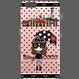 【HD016】ハードケースクリア COCOちゃんinPari 黒ドット