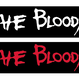 The Bloody シリコンバンド Black/White / Black/Red
