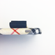 【iPhone6plus/6splus】チェック柄黒リボンケース