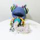 Jumbo Knit PUKE [BLUE]/203gow