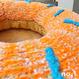 Knit  Donut  編みドーナツ [ Medium size] /203gow