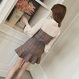 check blouse set-up(No.300365)