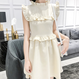 frill back ribbon lady OP(No.300397)