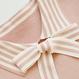 stripe ribbon knit OP(No.300514)