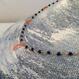ラピスラズリと深海珊瑚のシャンク巻きネックレス【40cm】