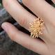 【受注品】珊瑚モチーフリング