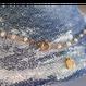 淡水パールと深海珊瑚のシャンク巻きネックレス【40cm】