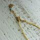 サルジ珊瑚のシルク紐ネックレス