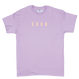 SOUR SOLUTION  ARMY PRINT TEE    LAVENDER