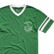 EMERICA HARSH BASEBALL V-NECK TEE GREEN