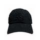 """classic cap """"悪""""  (BLK×BLK) (3D)"""