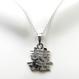 Sterling silver Kanji necklace