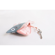 don fisher small blue silver biddy(keychain)