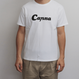 canna ロゴTシャツ 白