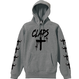 CLAPS CLOSS HOODIE (Heather Gray)