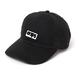 BASIC BOX LOGO CAP (BLACK)