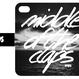 CLAPS SIGN PHOTO 手帳型 iPhone Case. (湖)