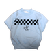 CHECKER SWEAT 【KID'S】L blue
