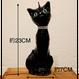 キャンドル 黒猫(青い目)
