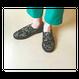 Gobelins woven shoes