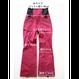 COM-06 STRAIGHT Pants. 《#5 WINERED 4way》
