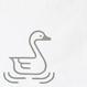 山形風呂敷/白鳥/コットン