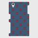 MOMENT ZARIGANI NAVY 側表面印刷スマホケース Xperia Z5(SO-01H/SOV32/501SO)