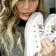 ALL STAR MILEYCYROUS  WHITE 162238C