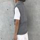 タートルノースリーブニット(3color)【クリックポスト対象商品】