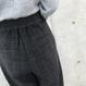 新カラー登場☆再入荷!起毛ツイードハイウエストチェックタックパンツ(4color)【クリックポスト対象商品】