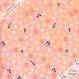 【残り190cm!】Panda Loves Sweets -coral pink (CO112508 E)