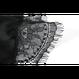 シルクキャミソール&ショートパンツ ブラック