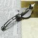 RENEW160926/大振りの歯車と繊細に飾り付けた時計の針のバレッタno.8