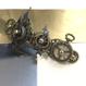 160609 長き時短き時を刻む歯車のバレッタno.15/スチームパンク