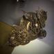 150423 蝶々と時計の針を飾り付けたバレッタno.7
