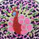 Peacock METAL (PK) Make-up pouch [DW2-3005]