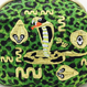 INKA SNAKE (GR)|Make-up pouch [DW2-3001]