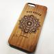 "Bamboo iPhone case B ""Sunflower"" (SE/6s/7/8/X)"