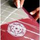 """Mandala"" Sticker (11㎝) 白,黒セット"