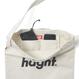 HT-G187007 / ROUND LOGO CANVAS SHOULDER BAG - OLIVE
