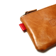 HT-G187003 / LEATHER POUCH - CAMEL