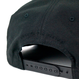HT-W186002 / BOX LOGO ROPE SNAPBACK CAP - BLACK