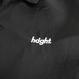 HT-W182001 / ROUND LOGO BONDED COACH JACKET - BLACK