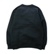 HT-W183003 / HEAVY WEIGHT CREW SWEAT - BLACK