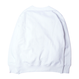 HT-W183003 / HEAVY WEIGHT CREW SWEAT - WHITE