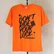 ドライTシャツシリーズもいよいよラストカラー!『DON'T RIDE YOUR LUCK』オレンジ×ブラック【限定3枚】