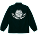 Brain Logo Coach Jacket -Black-