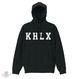 KHLX Hoodie -Black/White-